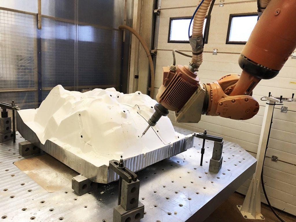Robot 7 axes - usinage